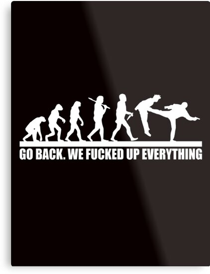 Funny Human Evolution by chiplanay