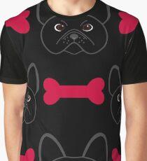 Bulldog Red Graphic T-Shirt