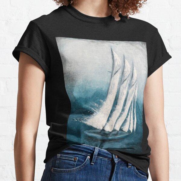 Adventure - Triple Mast Schooner, Expressionist Original Design Classic T-Shirt