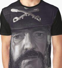 Lemmy Kilmister Graphic T-Shirt