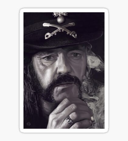 Lemmy Kilmister Sticker