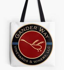 Gander Way Vineyards & Winery, LLC Logo Tote Bag