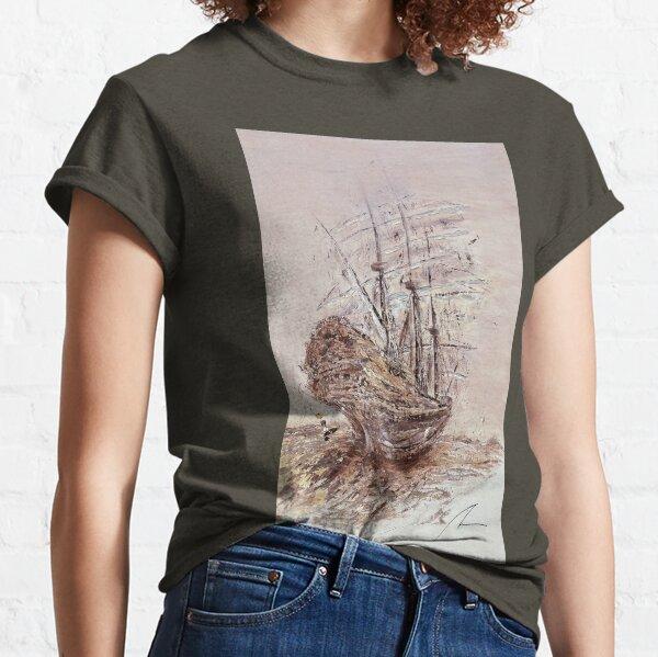 Tall Sailing Ship - Expressionist Original Paiting Classic T-Shirt