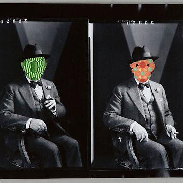Twofaced Man by taudalpoi
