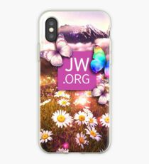 JW Flower mountain iPhone Case
