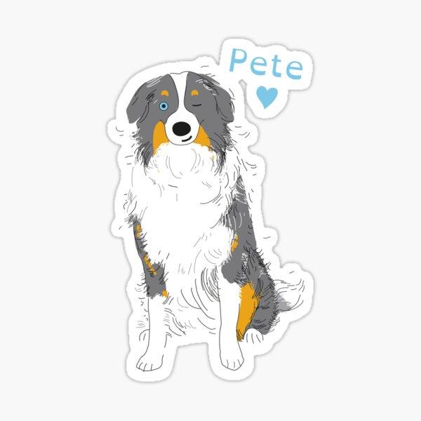 Loving Pete \ bij Suzies Sparrow Sticker