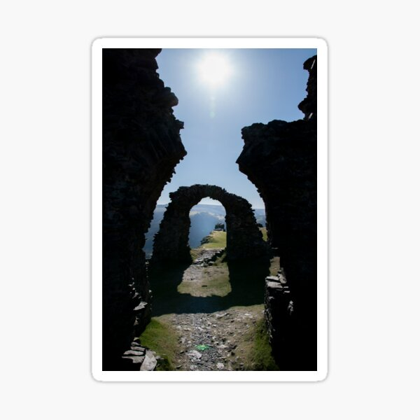 the arches of old Sticker