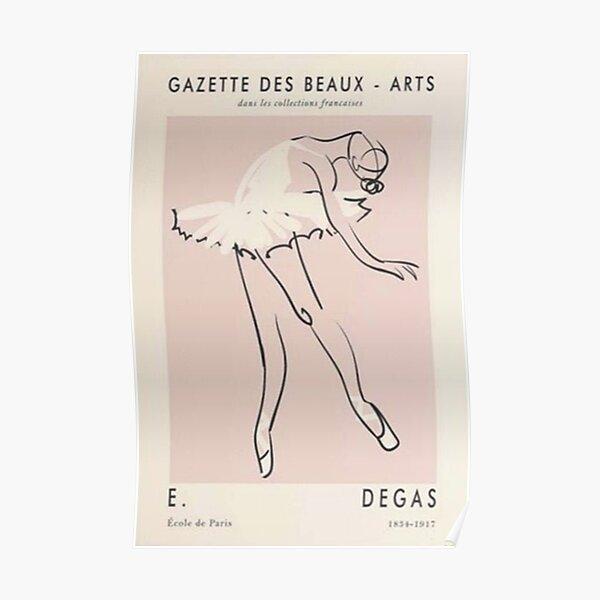 Girls Degas Dance Beauty Poster