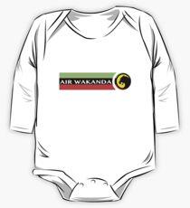 Air Wakanda- Logo One Piece - Long Sleeve
