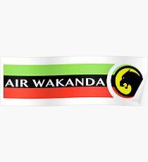 Air Wakanda- Logo Poster