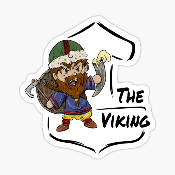 Roleplay Characters - The Viking Sticker