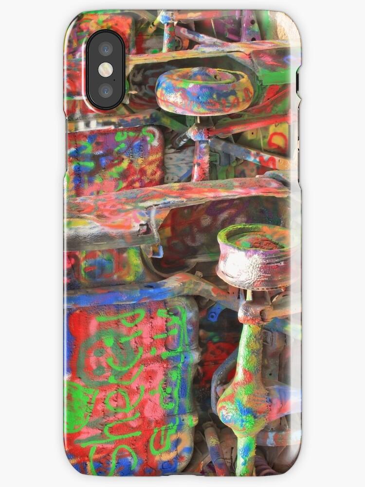 Colourful Cadillacs  by Andrew Felton