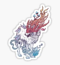 Spirit Animal - Wolf Sticker
