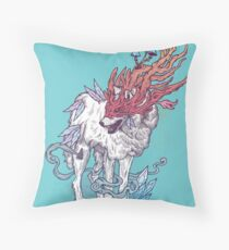 Spirit Animal - Wolf Throw Pillow