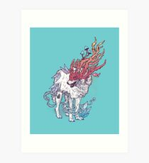 Spirit Animal - Wolf Art Print