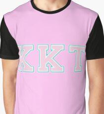 Kappa Kappa Tau KKT Logo Grafik T-Shirt