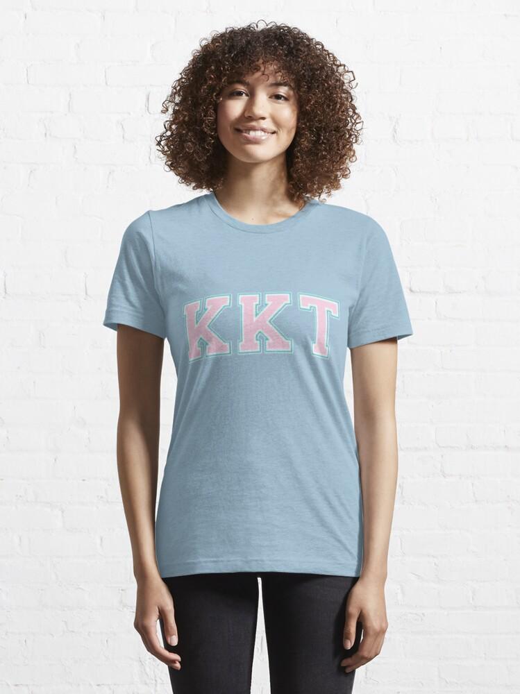 Alternate view of Kappa Kappa Tau KKT Logo Essential T-Shirt