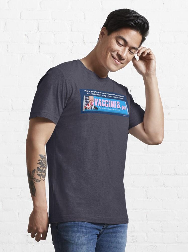 Alternate view of Vaccines.gum Essential T-Shirt