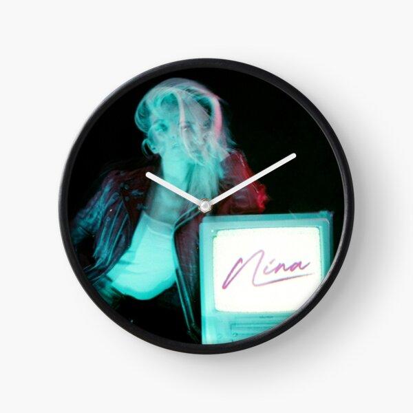 NINA TV Clock