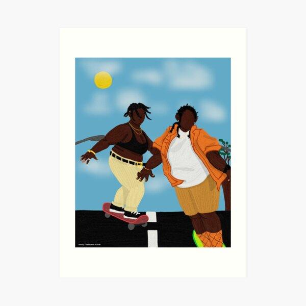 coast by Mercy Thokozane Minah  Art Print