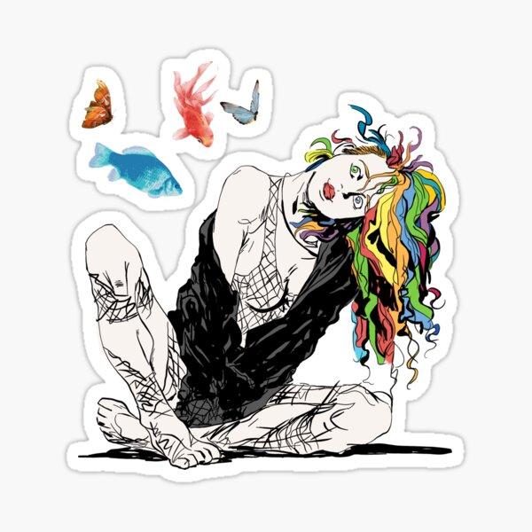 Delirium The Sandman Vertigo Comics Sticker
