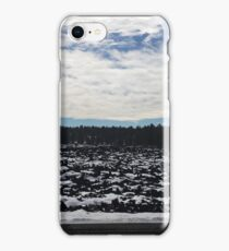 Flagstaff Snow Day iPhone Case/Skin