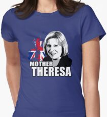 Mother Theresa Womens Fitted T-Shirt