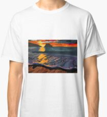Foggy Sunset Classic T-Shirt