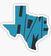 Texas HOME state design Sticker