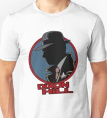 Dixon Hill is on the case Slim Fit T-Shirt