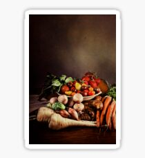~ Still Life with Vegetables ~ Sticker