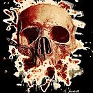 Rotten Skull – reddish by Bela-Manson