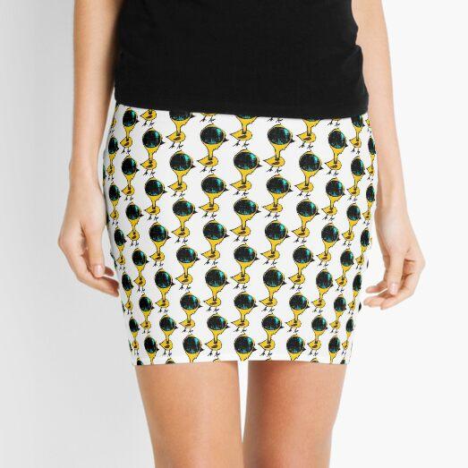 bird brain Mini Skirt