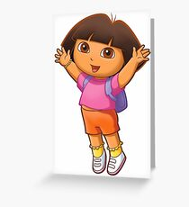Dora the Explorer! Greeting Card