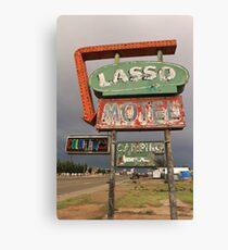 Lasso Motel Canvas Print