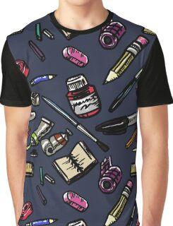 Art Supplies Bonanza!!! Graphic T-Shirt