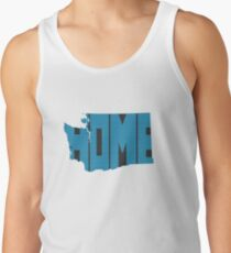 Washington HOME state design Tank Top
