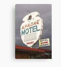 Apache Motel Canvas Print