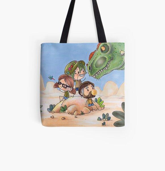 Hello, Alberto tri All Over Print Tote Bag