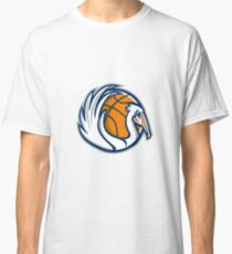 Pelican Wings Basketball Retro Classic T-Shirt