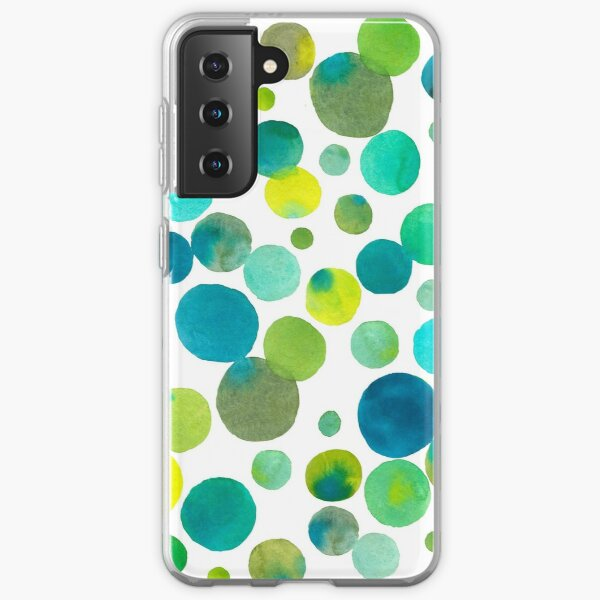 Bubbles without social distance Samsung Galaxy Soft Case