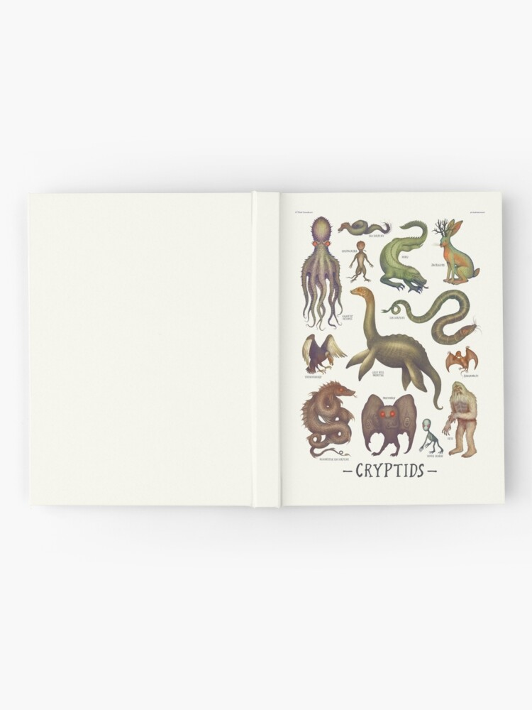 Alternate view of Cryptids, Cryptozoology species Hardcover Journal