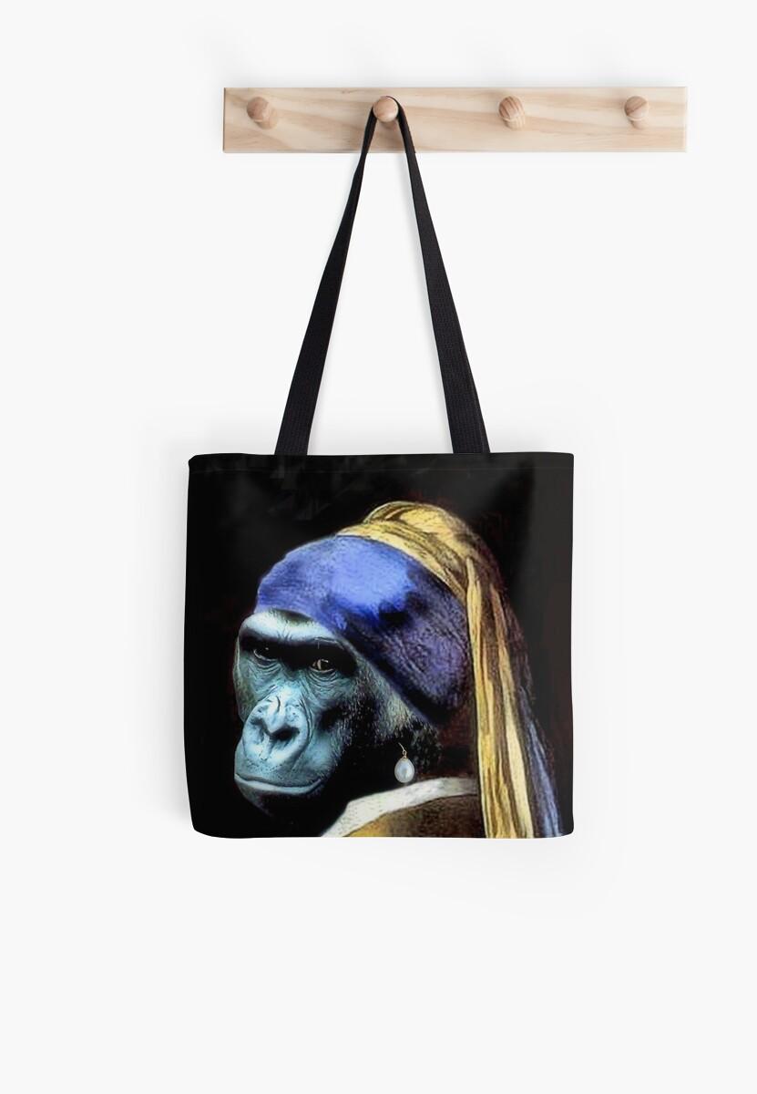 Gorilla Tote by SuddenJim