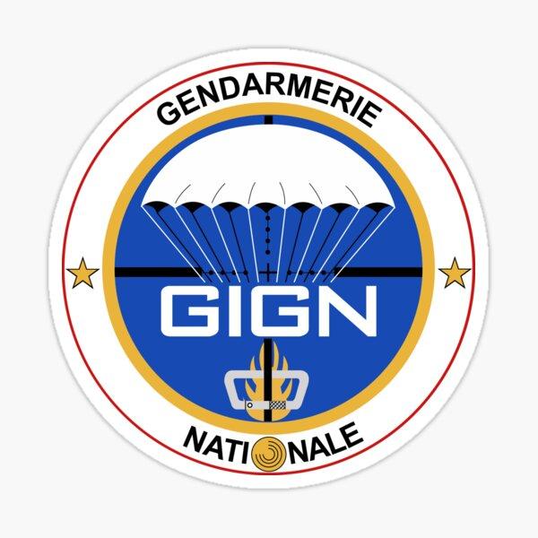 GIGN France Forces Spéciales Sticker