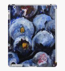 Blueberries Kitchen Decor Fruit Acrylic Contemporary Painting iPad Case/Skin