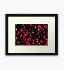Red Fruit Framed Print