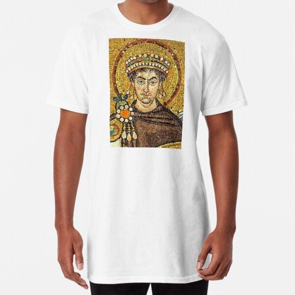 Byzantine Emperor Justinian I (527-565) Long T-Shirt