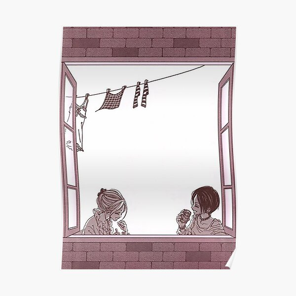 Nana Osaki and Nana Komatsu in Apartment 707 Spread Poster