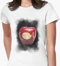 I O U Womens Fitted T-Shirt