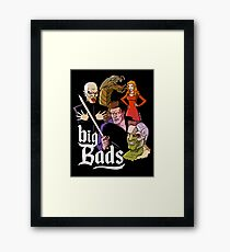 Big Bads Framed Print